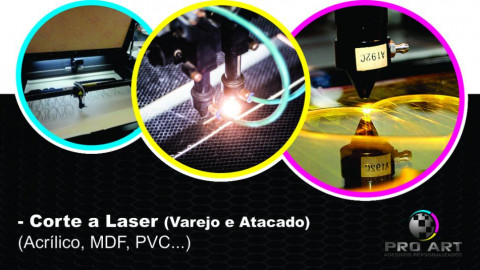 Corte Laser - Varejo e Atacado